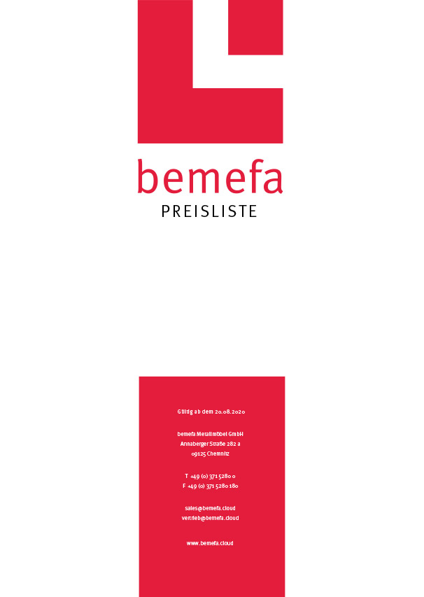 BEMEFA - Katalóg stoličiek 2020/2021