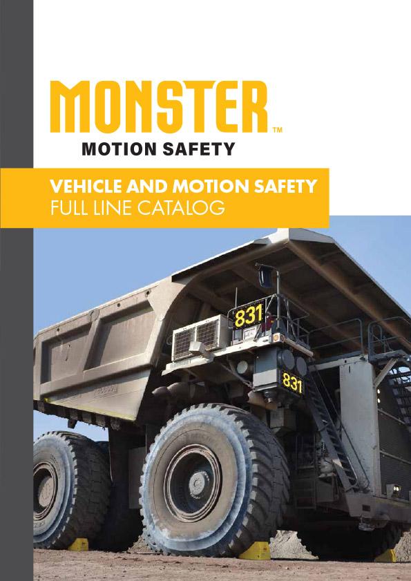 MONSTER™- Bezpečnosť pohybu vozidla