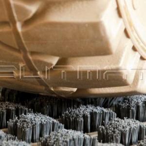 Oceľové čistiace rohože pre VZV